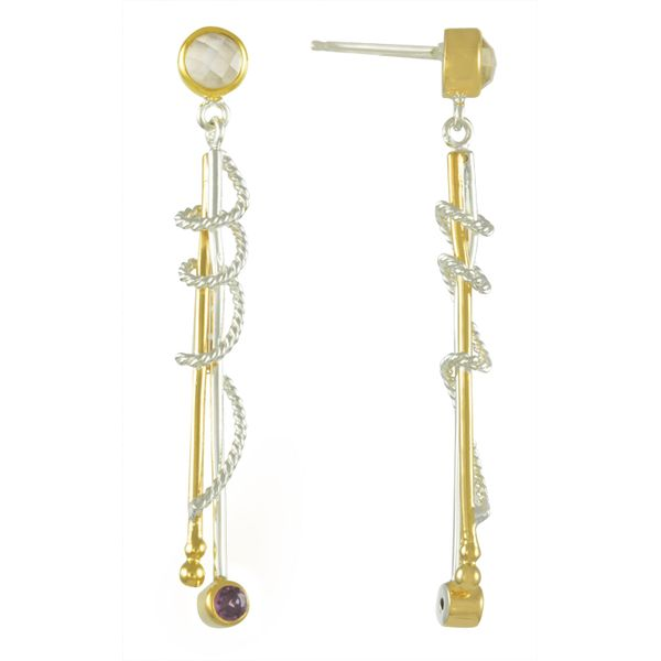 Michou Orbits Dangle Earrings Coughlin Jewelers St. Clair, MI