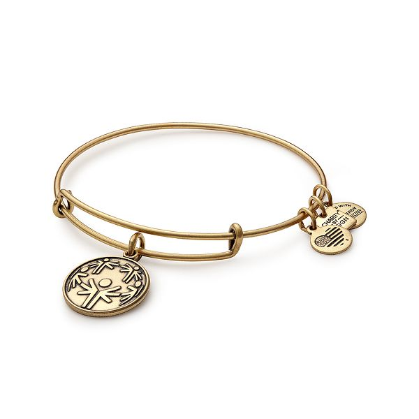 Alex and Ani Power of Unity Charm Bangle Coughlin Jewelers St. Clair, MI