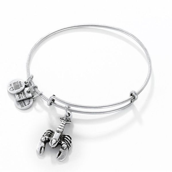 Alex and Ani Lobster Charm Bangle Coughlin Jewelers St. Clair, MI