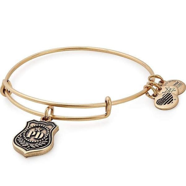 Alex and Ani Law Enforcement Charm Bangle Coughlin Jewelers St. Clair, MI