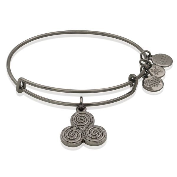 Alex and Ani Triskelion Charm Bangle Coughlin Jewelers St. Clair, MI