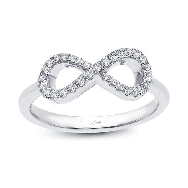 Simulated Diamond Infinity Symbol Ring Coughlin Jewelers St. Clair, MI