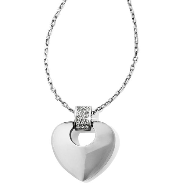 Brighton Meridian Equinox Heart Necklace Coughlin Jewelers St. Clair, MI