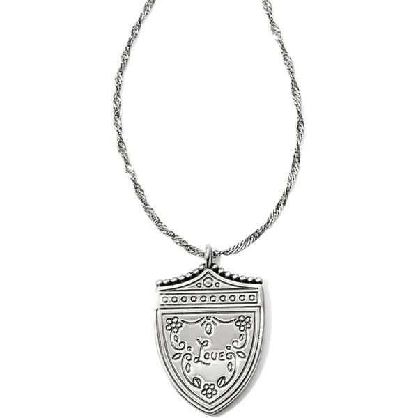 Brighton Medaille Shield Necklace Image 2 Coughlin Jewelers St. Clair, MI