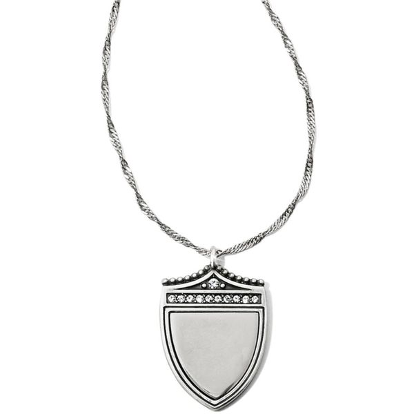 Brighton Medaille Shield Necklace Coughlin Jewelers St. Clair, MI