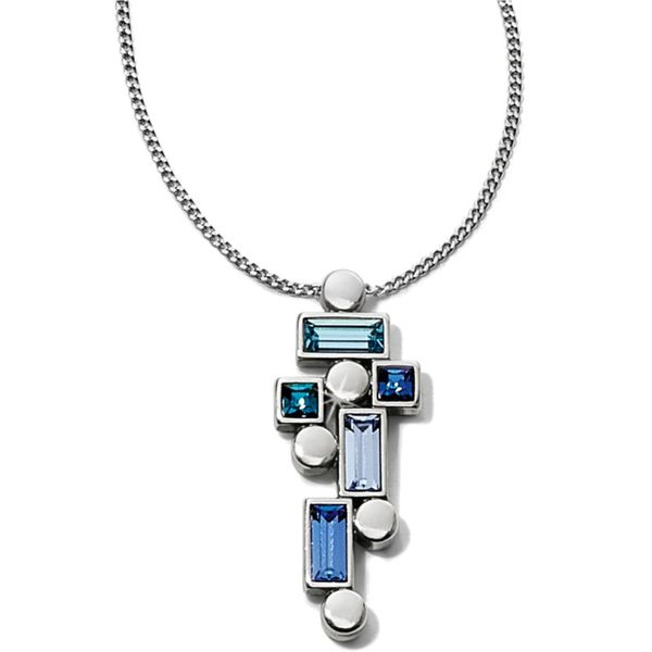 Brighton Blue Showers Pendant Necklace Coughlin Jewelers St. Clair, MI