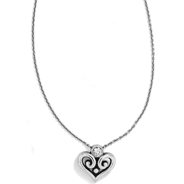Brighton Alcazar Heart Necklace Coughlin Jewelers St. Clair, MI