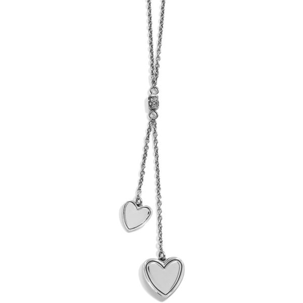 Brighton Stellar Heart Y Necklace Image 2 Coughlin Jewelers St. Clair, MI