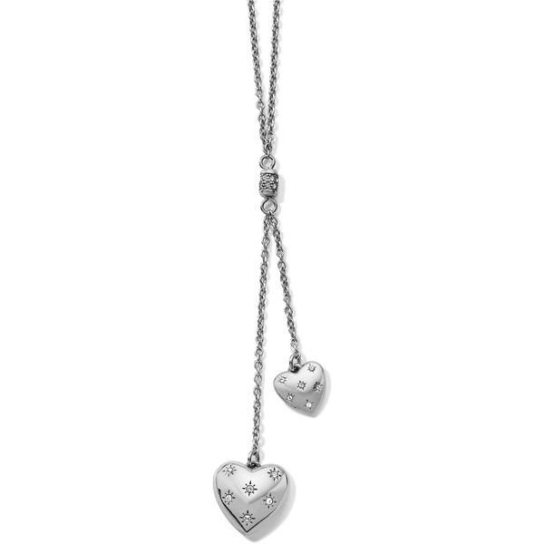 Brighton Stellar Heart Y Necklace Coughlin Jewelers St. Clair, MI