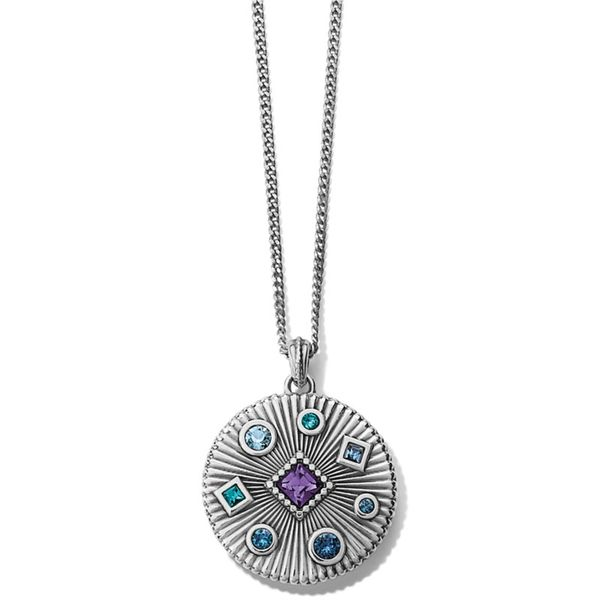 Brighton Halo Rays Petite Necklace Coughlin Jewelers St. Clair, MI