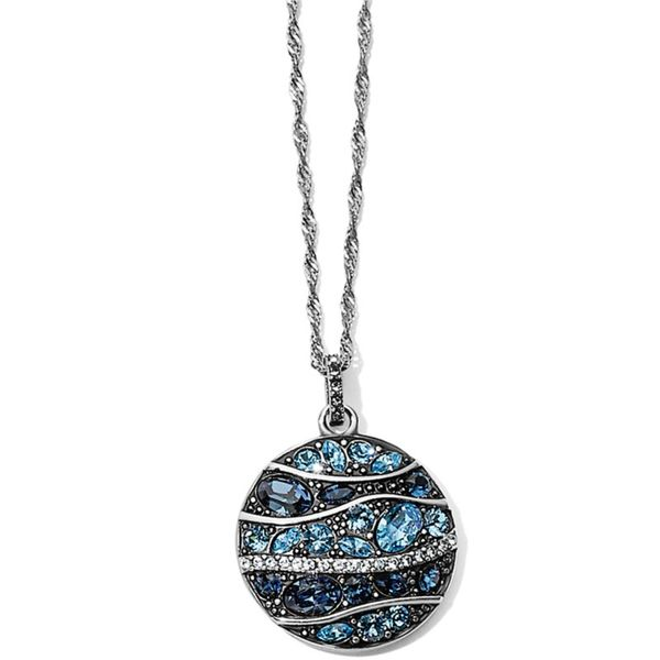 Brighton Trust Your Journey Wave Pendant Necklace Coughlin Jewelers St. Clair, MI