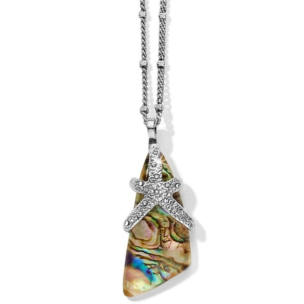 Brighton Sea Opal Convertible Necklace Coughlin Jewelers St. Clair, MI