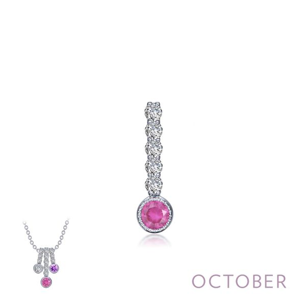 October Birthstone Love Pendant Coughlin Jewelers St. Clair, MI