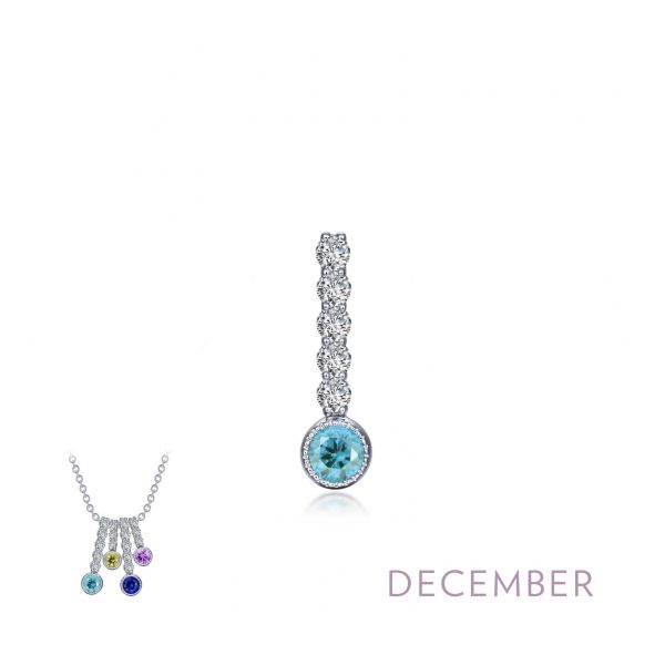 December Birthstone Love Pendant Coughlin Jewelers St. Clair, MI