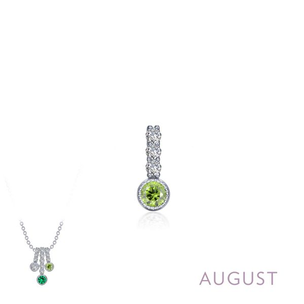 August Birthstone Love Pendant Coughlin Jewelers St. Clair, MI