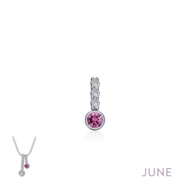 June Birthstone Love Pendant Coughlin Jewelers St. Clair, MI
