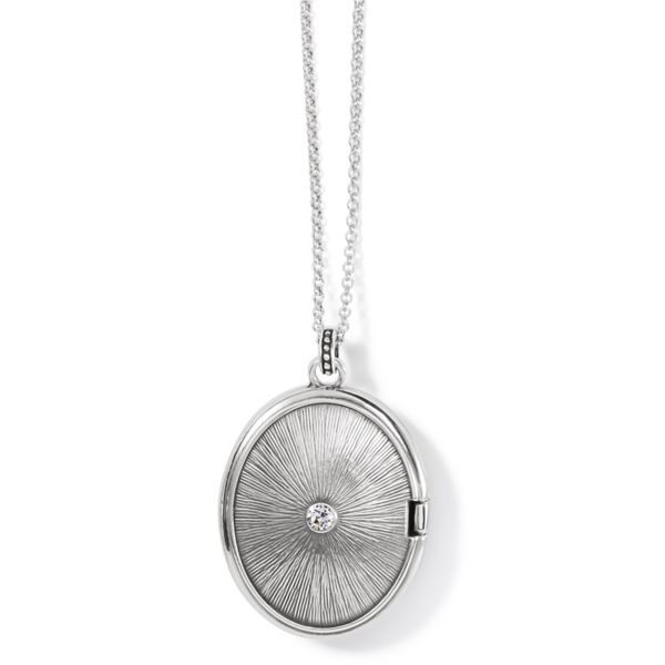 Brighton Crossroads Convertible Locket Necklace Image 2 Coughlin Jewelers St. Clair, MI