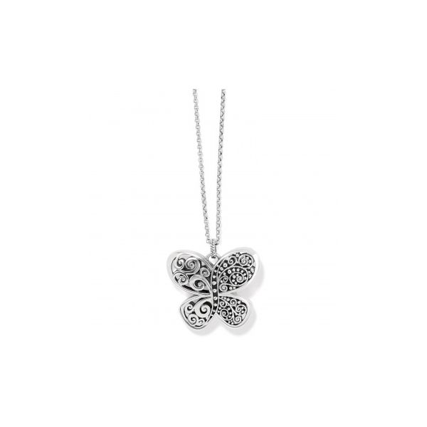 Love Affair Butterfly Necklace JM4353 Coughlin Jewelers St. Clair, MI