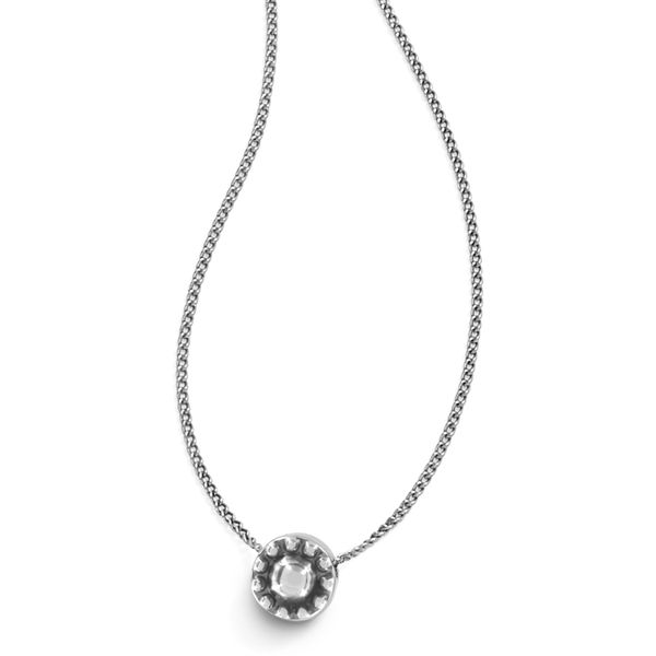 Brighton Illumina Solitaire Necklace Image 2 Coughlin Jewelers St. Clair, MI