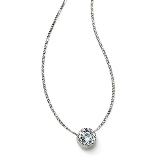 Brighton Illumina Solitaire Necklace Coughlin Jewelers St. Clair, MI