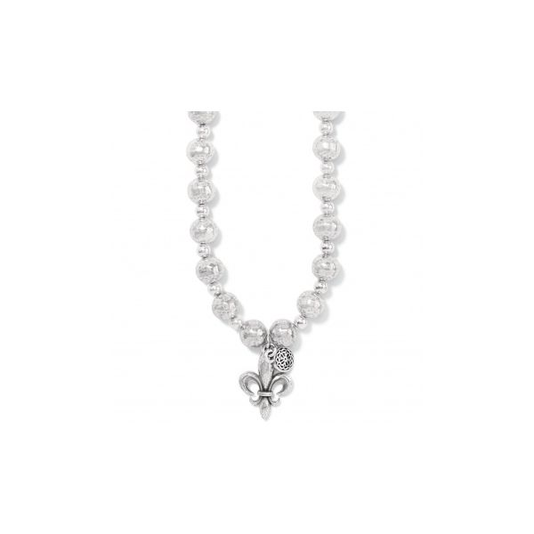 Ferrara Fleur De Lis Short Necklace Coughlin Jewelers St. Clair, MI