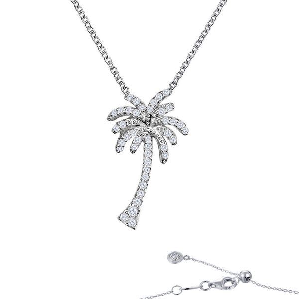 Tropical Palm Tree Necklace Coughlin Jewelers St. Clair, MI