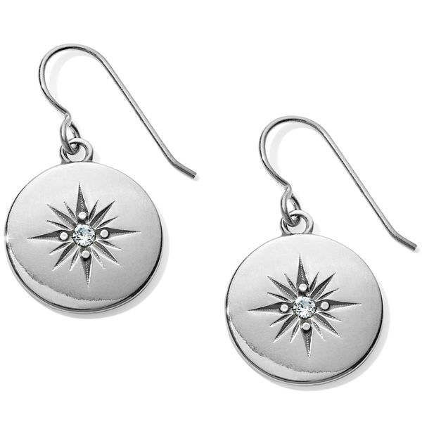 Brighton Coastline Compass French Wire Earrings Coughlin Jewelers St. Clair, MI