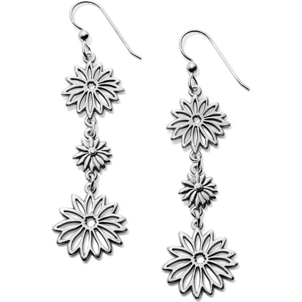 Brighton Enchanted Garden Petal French Wire Earrings Coughlin Jewelers St. Clair, MI