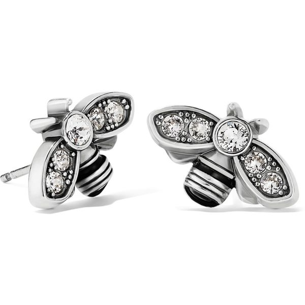 Brighton Bee Beautiful Mini Post Earrings Coughlin Jewelers St. Clair, MI