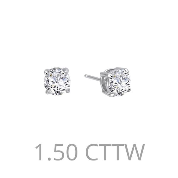 1.5 ctw Stud Earrings Coughlin Jewelers St. Clair, MI