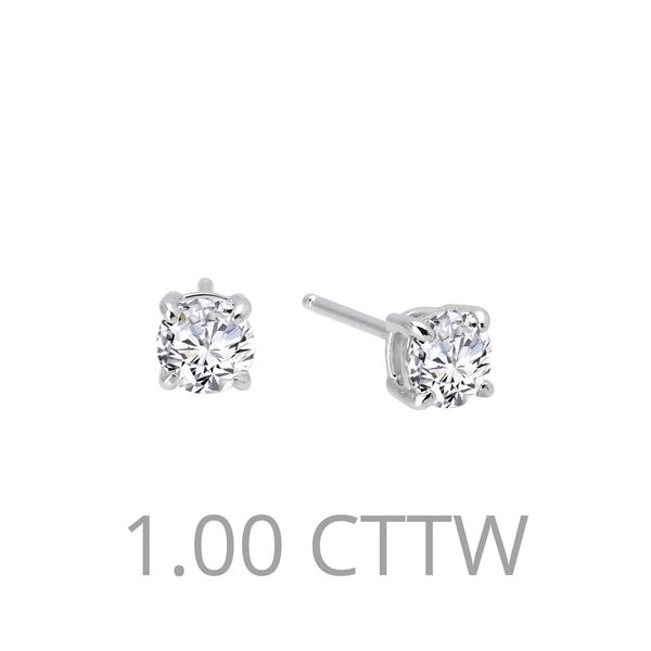 1 ctw Stud Earrings Coughlin Jewelers St. Clair, MI