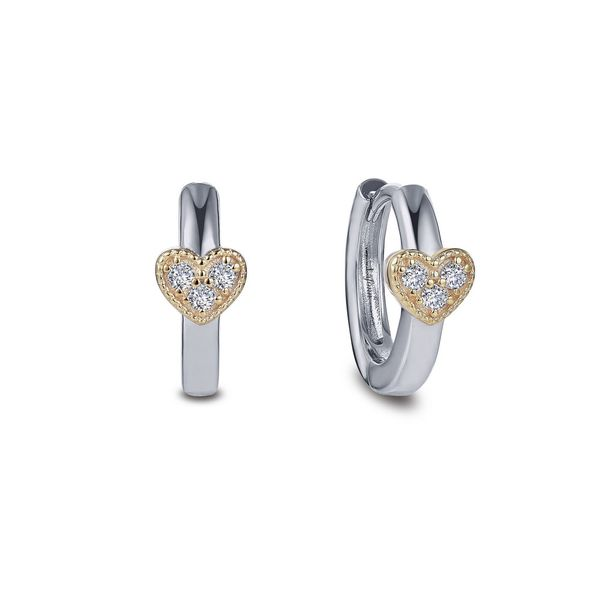 Dainty Station Huggie Earrings Coughlin Jewelers St. Clair, MI