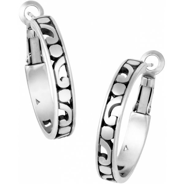 Brighton Contempo Small Hoop Earrings Coughlin Jewelers St. Clair, MI