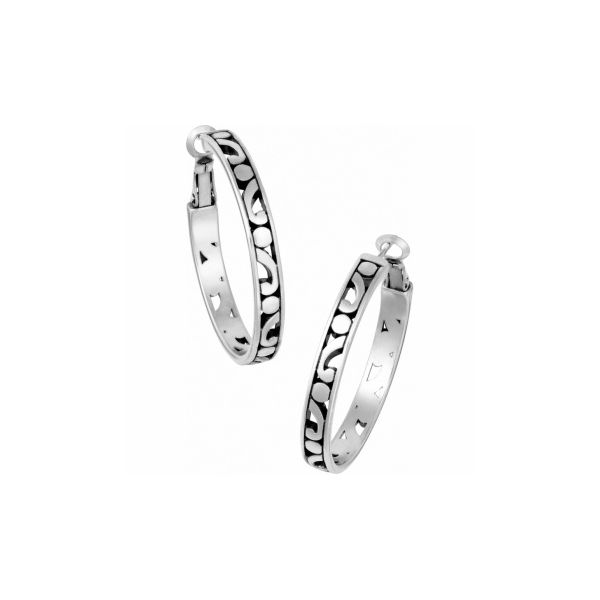 Contempo Medium Hoop Earrings Coughlin Jewelers St. Clair, MI