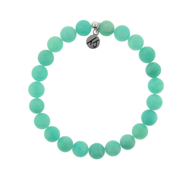 Stacker Collection- Classic Peruvian Amazonite 8mm Stone Bracelet Coughlin Jewelers St. Clair, MI