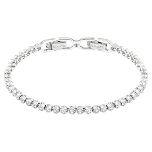 Emily Bracelet, White, Rhodium plated Coughlin Jewelers St. Clair, MI