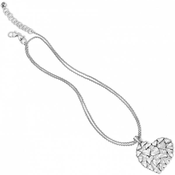 Brighton Hearts Galore Convertible Necklace Image 3 Coughlin Jewelers St. Clair, MI