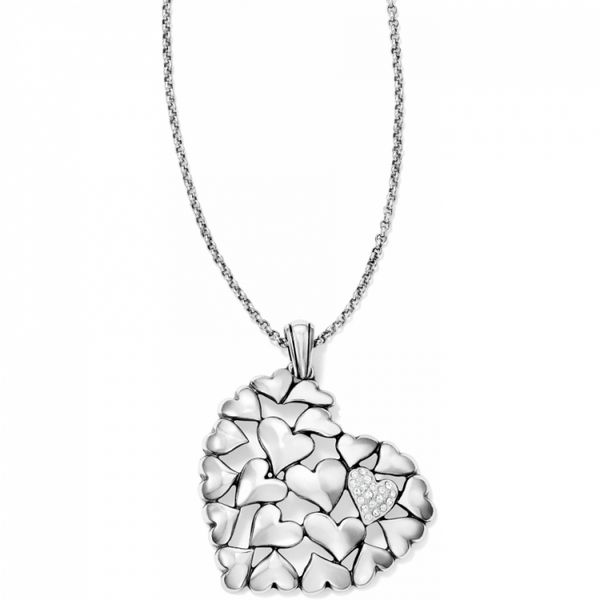 Brighton Hearts Galore Convertible Necklace Coughlin Jewelers St. Clair, MI