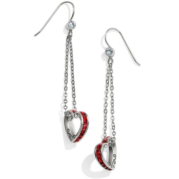 Brighton Spectrum Petite Heart French Wire Earrings Coughlin Jewelers St. Clair, MI