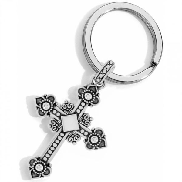 Brighton Alcazar Cross Key Fob Image 2 Coughlin Jewelers St. Clair, MI
