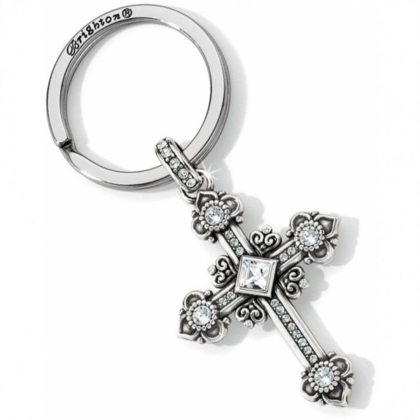 Brighton Alcazar Cross Key Fob Coughlin Jewelers St. Clair, MI