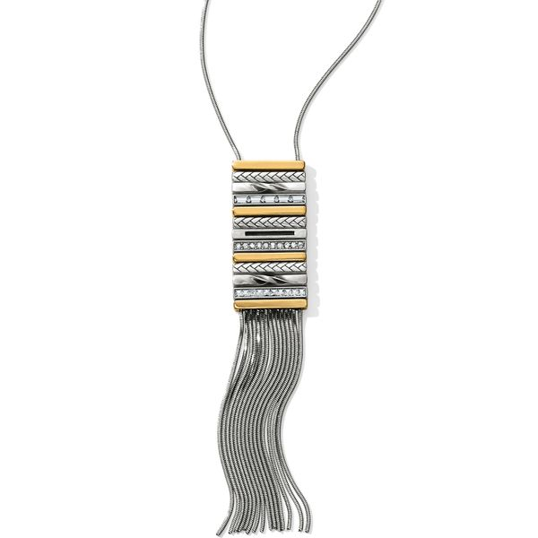 Brighton Tapestry Fringe Long Necklace Coughlin Jewelers St. Clair, MI