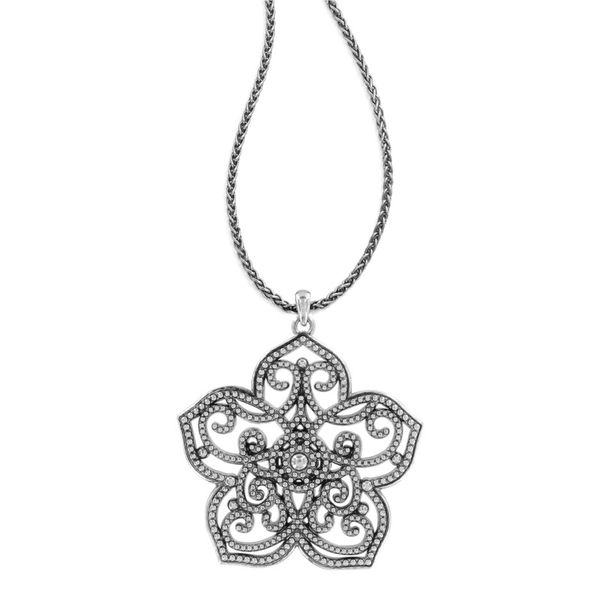 Brighton Illumina Large Flower Necklace Image 2 Coughlin Jewelers St. Clair, MI