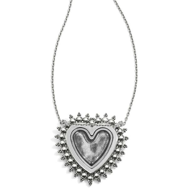 Brighton Telluride Heart Necklace Image 2 Coughlin Jewelers St. Clair, MI