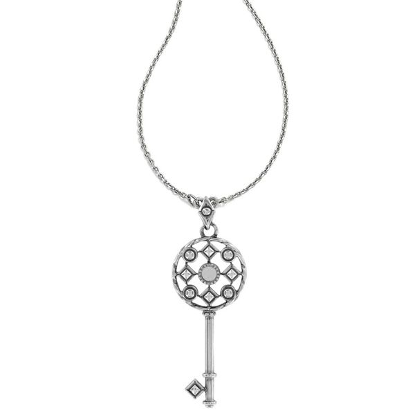 Brighton Halo Key Necklace Image 2 Coughlin Jewelers St. Clair, MI