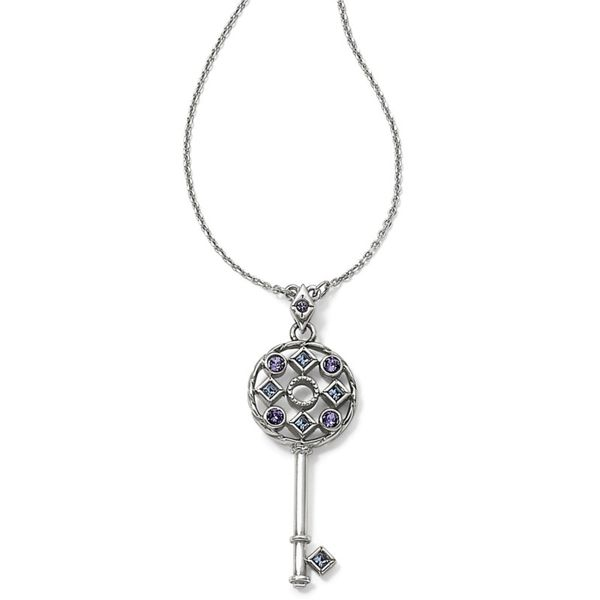 Brighton Halo Key Necklace Coughlin Jewelers St. Clair, MI