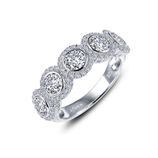 Halo Half Eternity Band Coughlin Jewelers St. Clair, MI