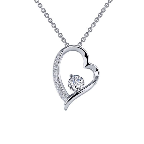 Open Heart Pendant Necklace Coughlin Jewelers St. Clair, MI