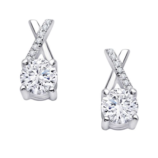 1.82 ctw Kiss X Stud Earrings Coughlin Jewelers St. Clair, MI