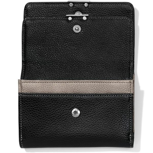 Brighton Barbados Double Flap Medium Wallet Image 2 Coughlin Jewelers St. Clair, MI